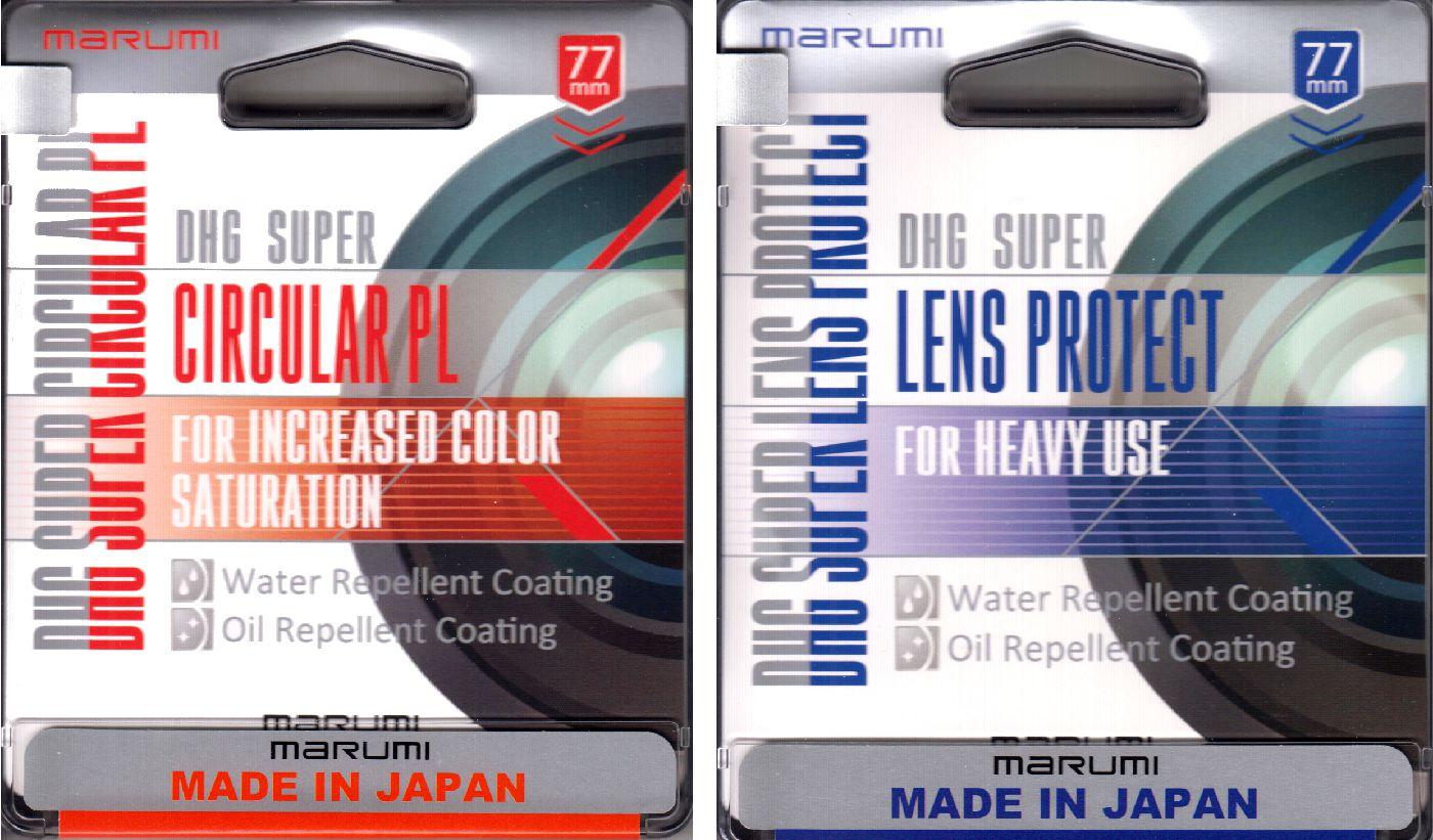 Filtre de protection SUPER Digital High Grade MARUMI LENS PROTECT S-DHG Ø49mm